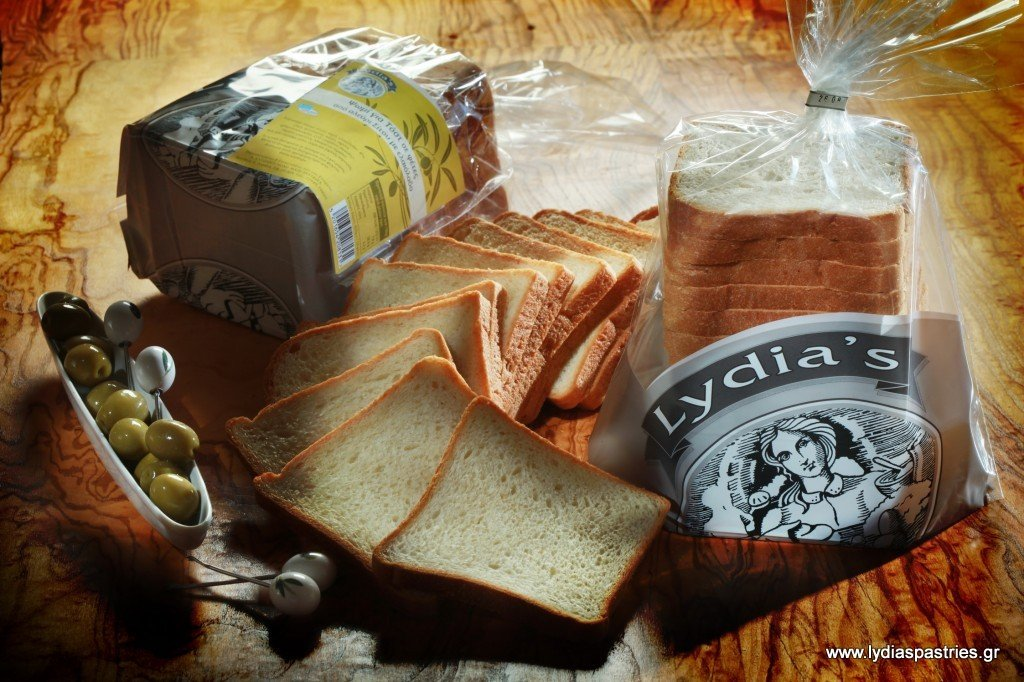Ψωμι Σίτου Lydias για τοστ