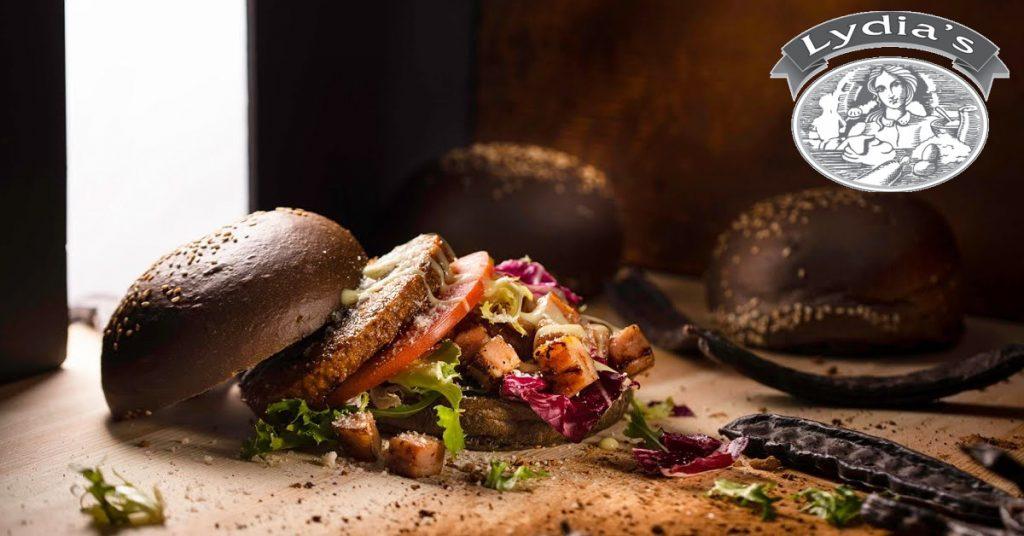 Lydias Carob Burger Bun